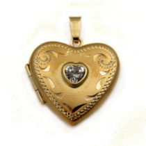 10 K Gold Locket
