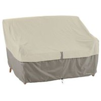 Classic Accessories Belltown Patio Sofa or Loveseat Cover - Small, Grey