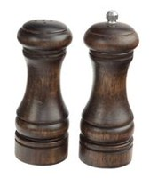 Paderno 5-inch Pepper Mill and Salt Shaker Set