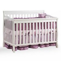 Kidilove Jessie 4-in-1 Baby Crib White