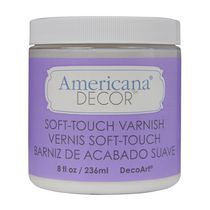 DecoArt Americana Decor Varnish 8 fl oz / 236 ml Soft Touch