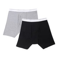 George Men's 2-Pack Boxer Briefs M/M