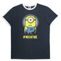 Minion Men's Ringer T-shirt L