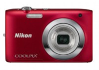 Nikon Coolpix S2600 Digital Camera - Red