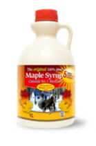 Old Fashioned Maple Crest Canada No.1 Medium Pure Maple Syrup