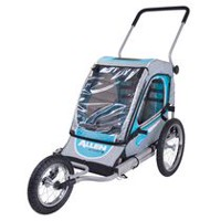 Allen Sports Steel 1 Child Jogger & Bicycle Trailer
