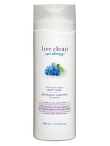 Live Clean Spa Therapy Blue Hydrangea Body Wash