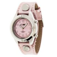 Globlu Ladies Pink Patent Analog Watch