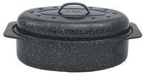 Granite Ware 13 Inch Oval Roaster w/Lid