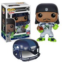Figurine articulée NFL Marshawn Lynch POP! de Funko