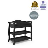 Storkcraft Aspen Changing Table Black