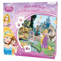 Editions Gladius International Disney: Princess Edition Hide And Seek Game - Bilingual