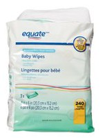 Equate Sensitive Skin Baby Wipes