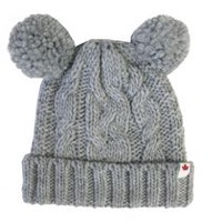 Canadiana Knit Hat with Fleece Lining