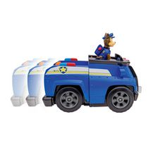 PAW Patrol Chase's Deluxe Cruiser Toy Vehicle with Action Figure