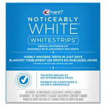 Crest 3D White Whitestrips Noticeably White Teeth Whitening Kit