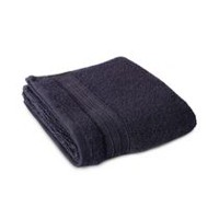 hometrends Solid Hand Towel Black