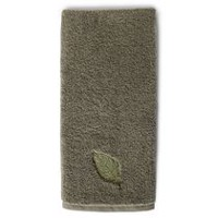 hometrends Jacquard Hand Towel Green
