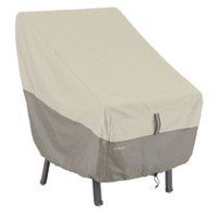 Couverture de chaise de Belltown Classic Accessories - grise