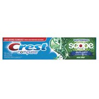 Dentifrice menthe Blanchissant avec Scope Outlast Complet de Crest