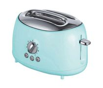Brentwood 2-Slice Extra Wide Slot Retro Toaster, Blue