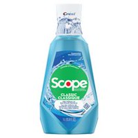 Crest Scope Cool Peppermint Classic Mouthwash
