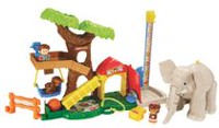 Fisher-Price Little People Zoo des grands animaux