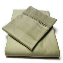 hometrends T400 Thread Count Luxury Sateen Pillowcase Taupe King