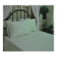 hometrends T400 Thread Count Luxury Sateen Pillowcase Cream King