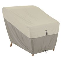 Classic Accessories Belltown Patio Lounge Chair Cover, Grey