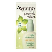 AVEENO® Active Naturals Positively Radiant® SPF 15 Daily Moisturizer Lotion