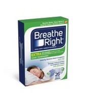 Bandelettes nasales de Breathe Right® Extra Transparentes  26