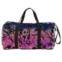 Fashion Angels Style Lab Scattered Sequin & Velvet Duffle Bag
