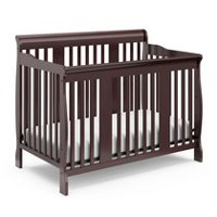 Storkcraft Tuscany 4-in-1 Convertible Crib Espresso