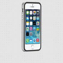 Case-Mate Slim Tough Case for iPhone 5s/SE in Black/Silver