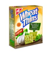 Wheat Thins Spinach & Roasted Garlic Crackers