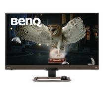 "BenQ 32"" 4K HDRi USB-C HDMI 60Hz 5ms UHD IPS Monitor w/remote control - EW3280U (speakers/subwoofer included)"