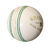 Graddige White Cavalier Test Cricket Ball