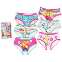 Disney Frozen Girls' 6-Pack Underwear 4