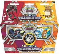 Pokémon Sun & Moon Lycanroc & Alolan Raichu Trainer Deck- English Only