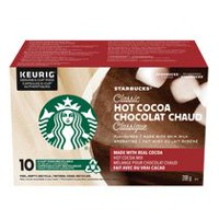 Starbucks® Classic Hot Cocoa K-Cup® pods 10ct