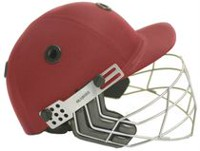 Casque de cricket marron County, taille TTG