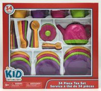 kid connection 34-Piece Tea Set