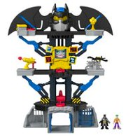 Ensemble de jeu Imaginext DC Super Friends de Fisher-Price – Batcave transformable