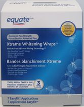 Equate Advanced Plus Strength Xtreme Whitening Wraps