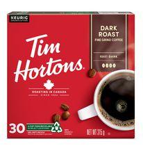 Café Tim Hortons à torréfaction foncée