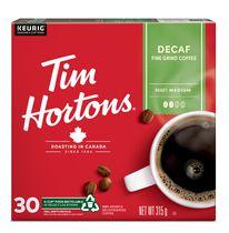 Café léger décaféiné Decaf de Tim Hortons de torréfaction moyen