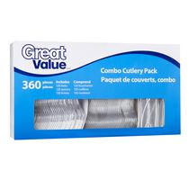 Great Value Combo Cutlery Pack