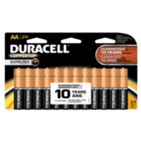 Piles AA Duracell Coppertop