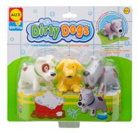 Alex Toys Rub a Dub Dirty Dogs Toys